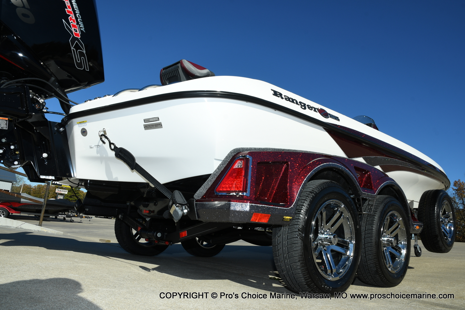 2021 Ranger Boats boat for sale, model of the boat is Z521C Ranger Cup Equipped DUAL CONSOLE & Image # 20 of 50