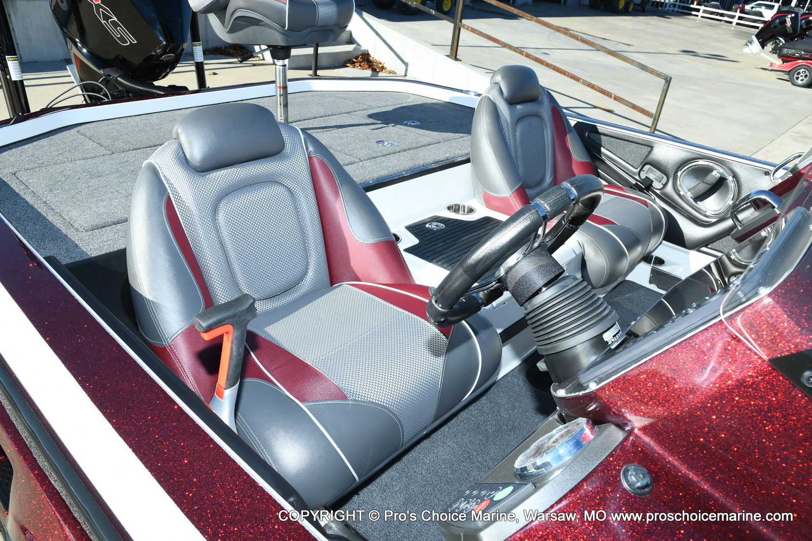 2021 Ranger Boats boat for sale, model of the boat is Z521C Ranger Cup Equipped DUAL CONSOLE & Image # 25 of 50