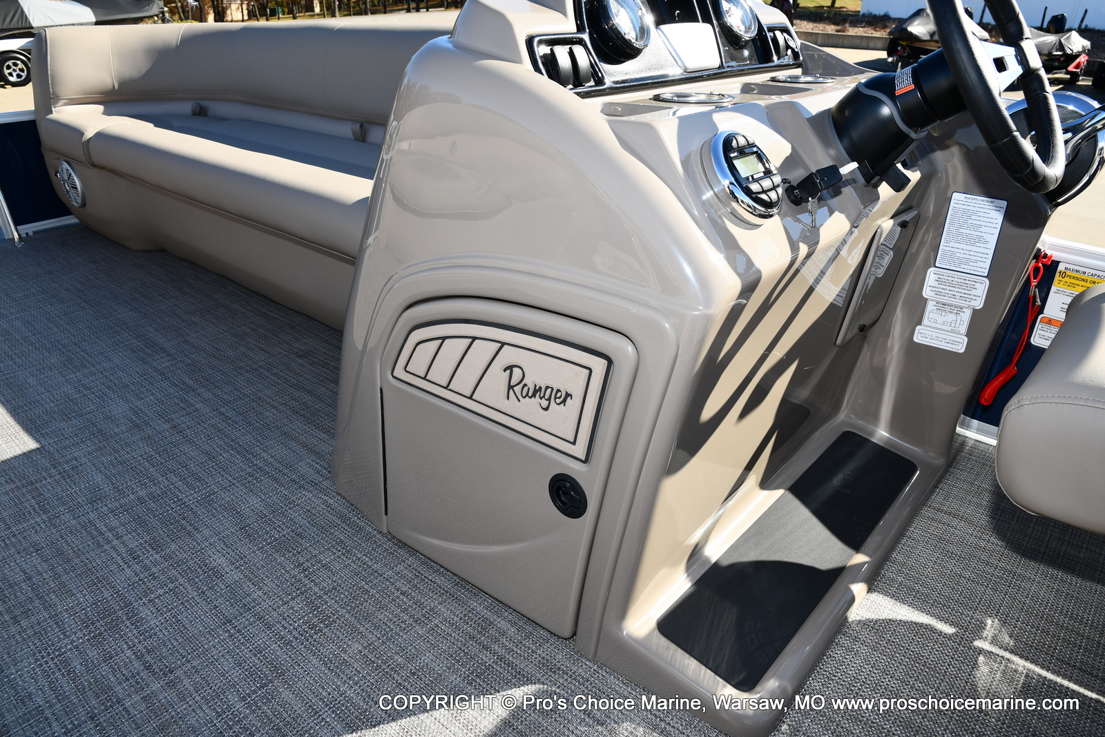 2021 Ranger Boats boat for sale, model of the boat is 200C CRUISE & Image # 25 of 50