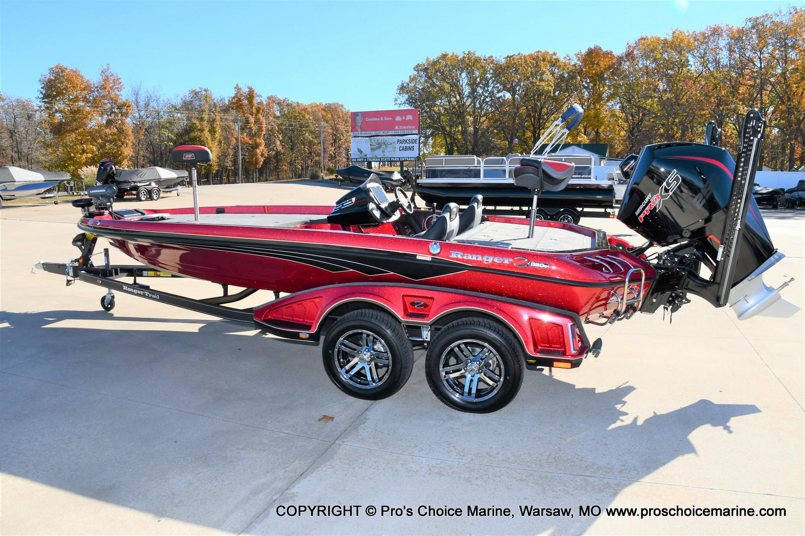 2021 Ranger Boats boat for sale, model of the boat is Z520C Ranger Cup Equipped & Image # 45 of 50