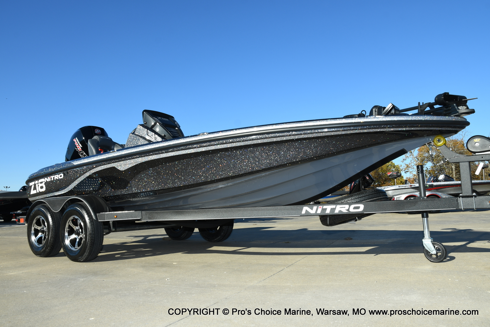 2021 Nitro boat for sale, model of the boat is Z18 Pro Pack w/175HP Pro-XS & Image # 47 of 50