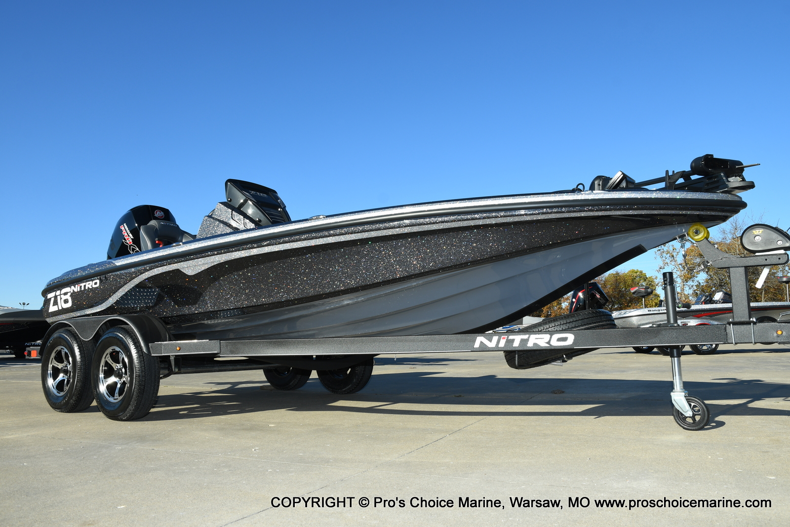 2021 Nitro boat for sale, model of the boat is Z18 Pro Pack w/175HP Pro-XS & Image # 48 of 50