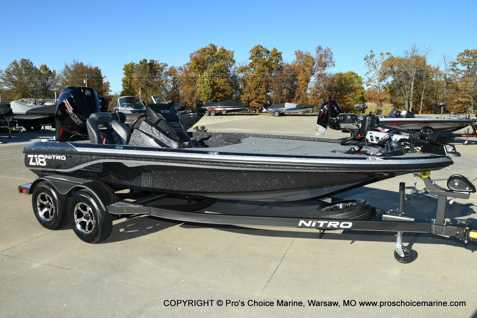2021 Nitro boat for sale, model of the boat is Z18 Pro Pack w/175HP Pro-XS & Image # 49 of 50