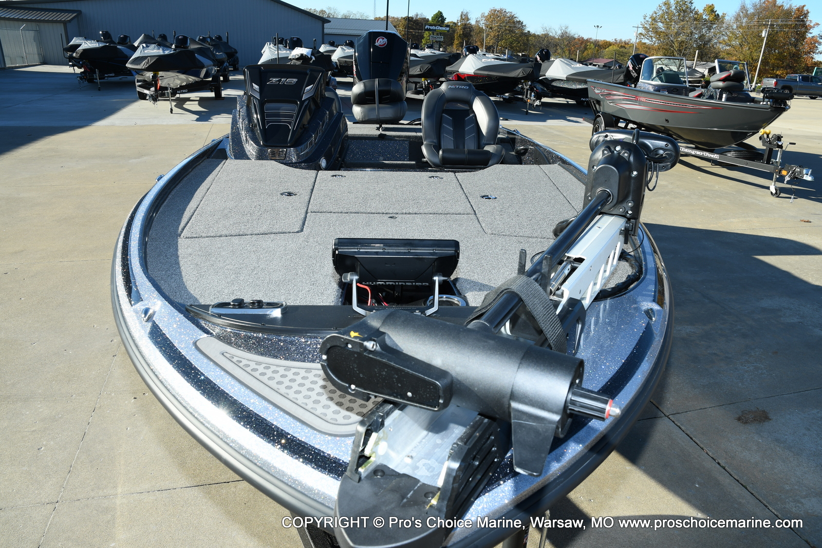 2021 Nitro boat for sale, model of the boat is Z18 Pro Pack w/175HP Pro-XS & Image # 50 of 50