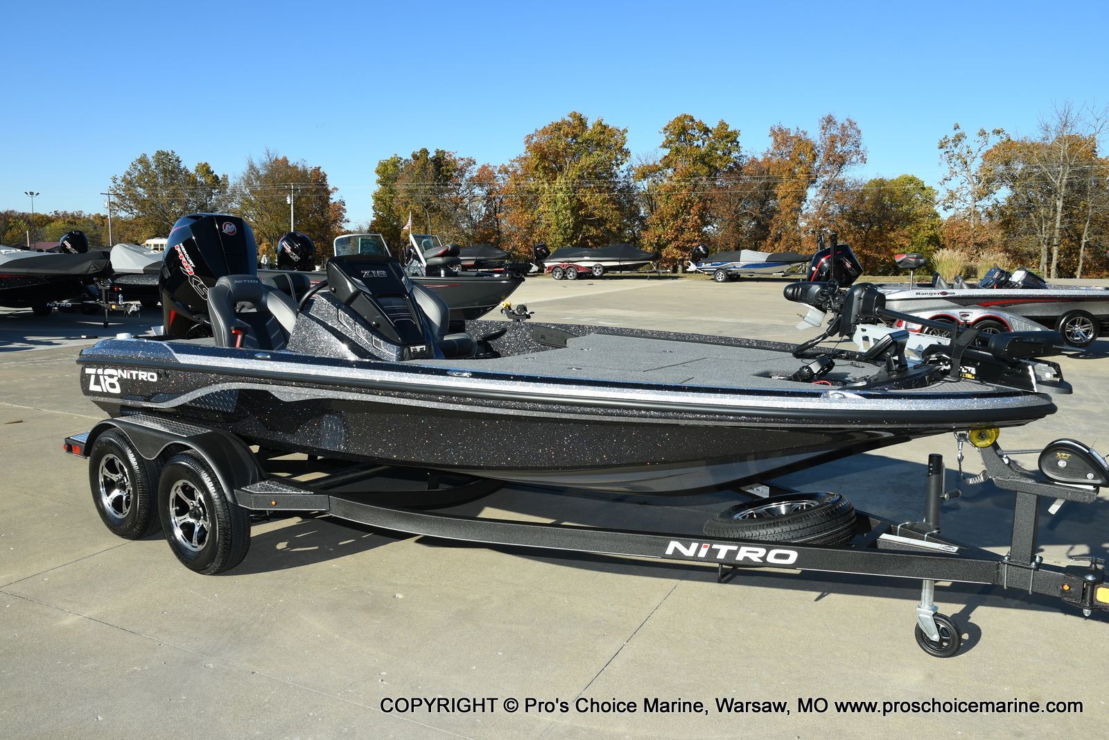 2021 Nitro boat for sale, model of the boat is Z18 Pro Pack w/175HP Pro-XS & Image # 1 of 50