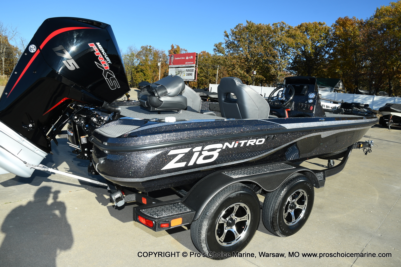 2021 Nitro boat for sale, model of the boat is Z18 Pro Pack w/175HP Pro-XS & Image # 4 of 50
