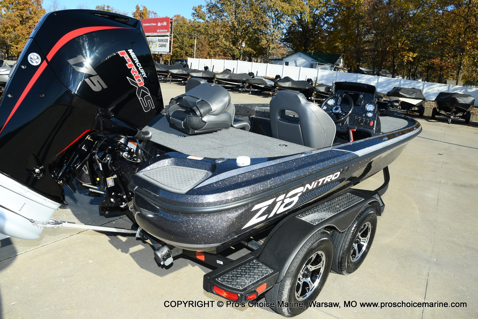 2021 Nitro boat for sale, model of the boat is Z18 Pro Pack w/175HP Pro-XS & Image # 13 of 50