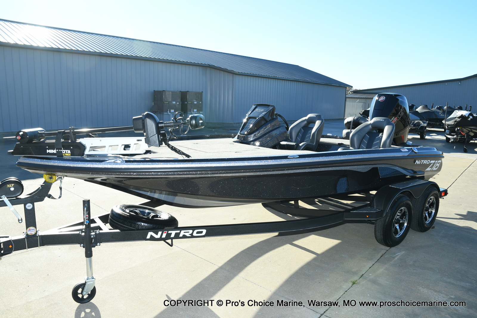 2021 Nitro boat for sale, model of the boat is Z18 Pro Pack w/175HP Pro-XS & Image # 16 of 50