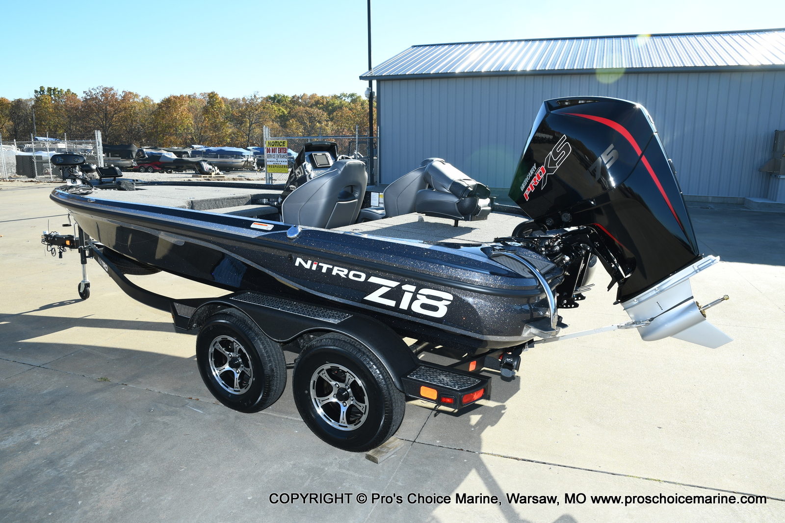 2021 Nitro boat for sale, model of the boat is Z18 Pro Pack w/175HP Pro-XS & Image # 24 of 50