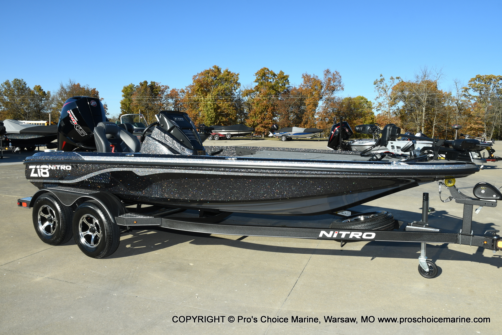2021 Nitro boat for sale, model of the boat is Z18 Pro Pack w/175HP Pro-XS & Image # 35 of 50