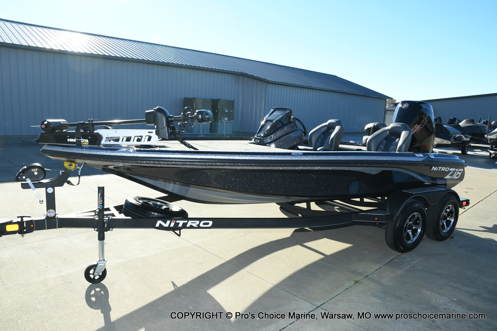 2021 Nitro boat for sale, model of the boat is Z18 Pro Pack w/175HP Pro-XS & Image # 37 of 50