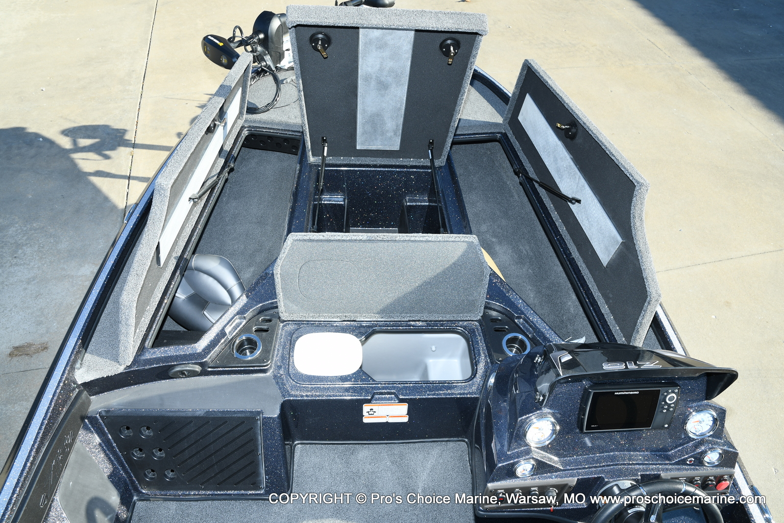 2021 Nitro boat for sale, model of the boat is Z18 Pro Pack w/175HP Pro-XS & Image # 43 of 50