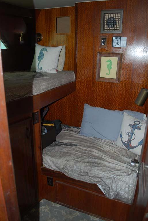 Guest Stateroom to Port