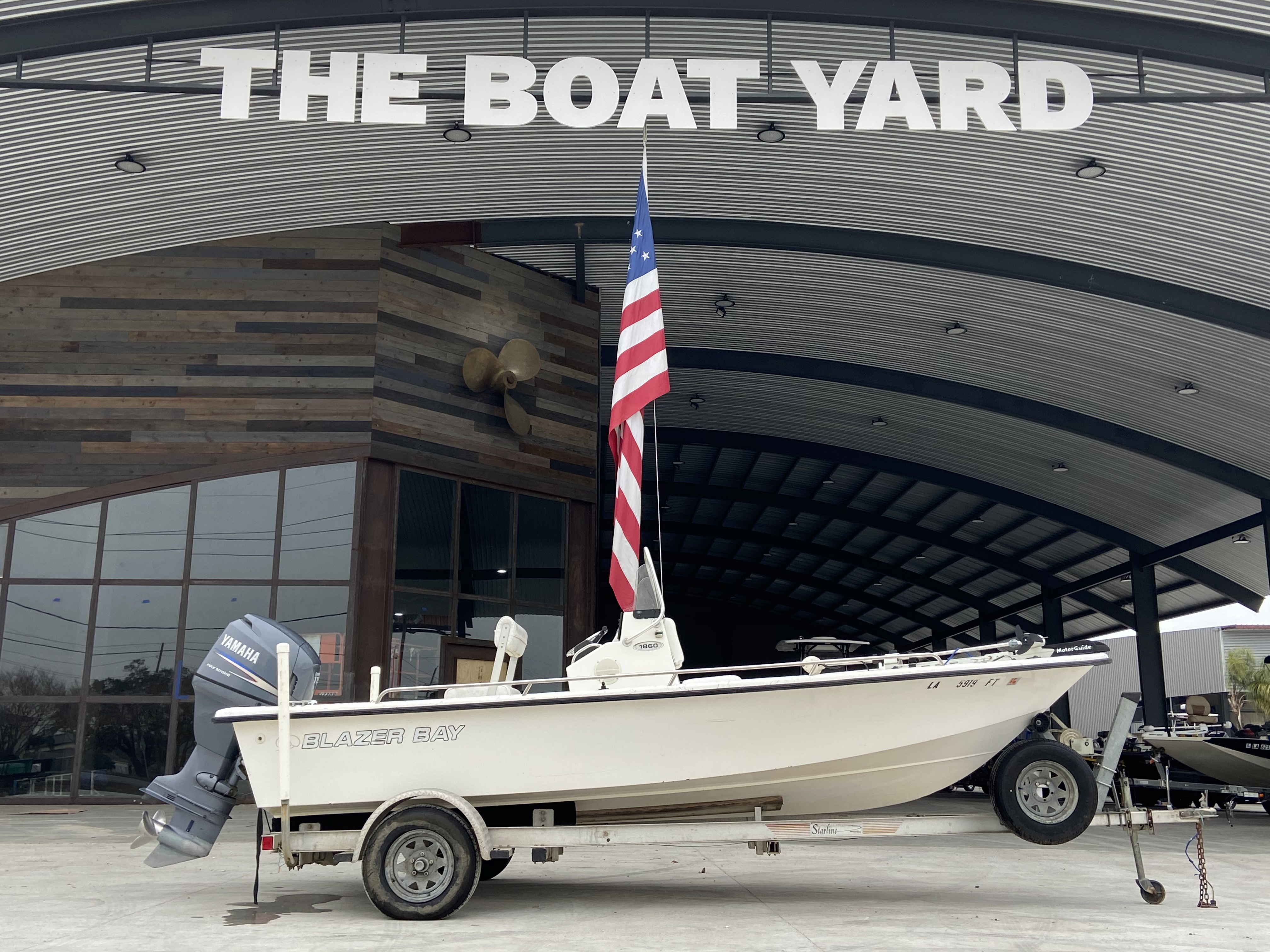 2008 Blazer boat for sale, model of the boat is 1860 CC & Image # 1 of 15