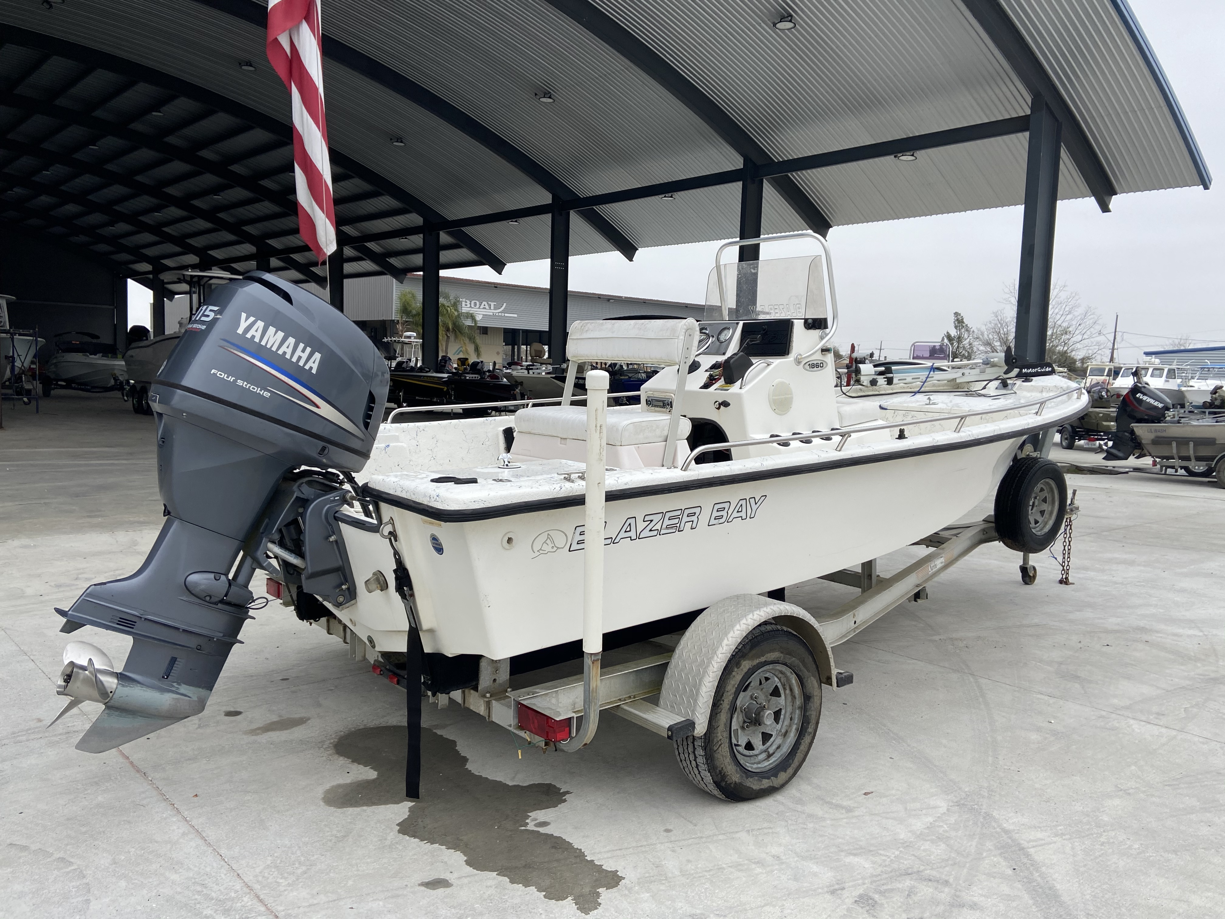 2008 Blazer boat for sale, model of the boat is 1860 CC & Image # 2 of 15