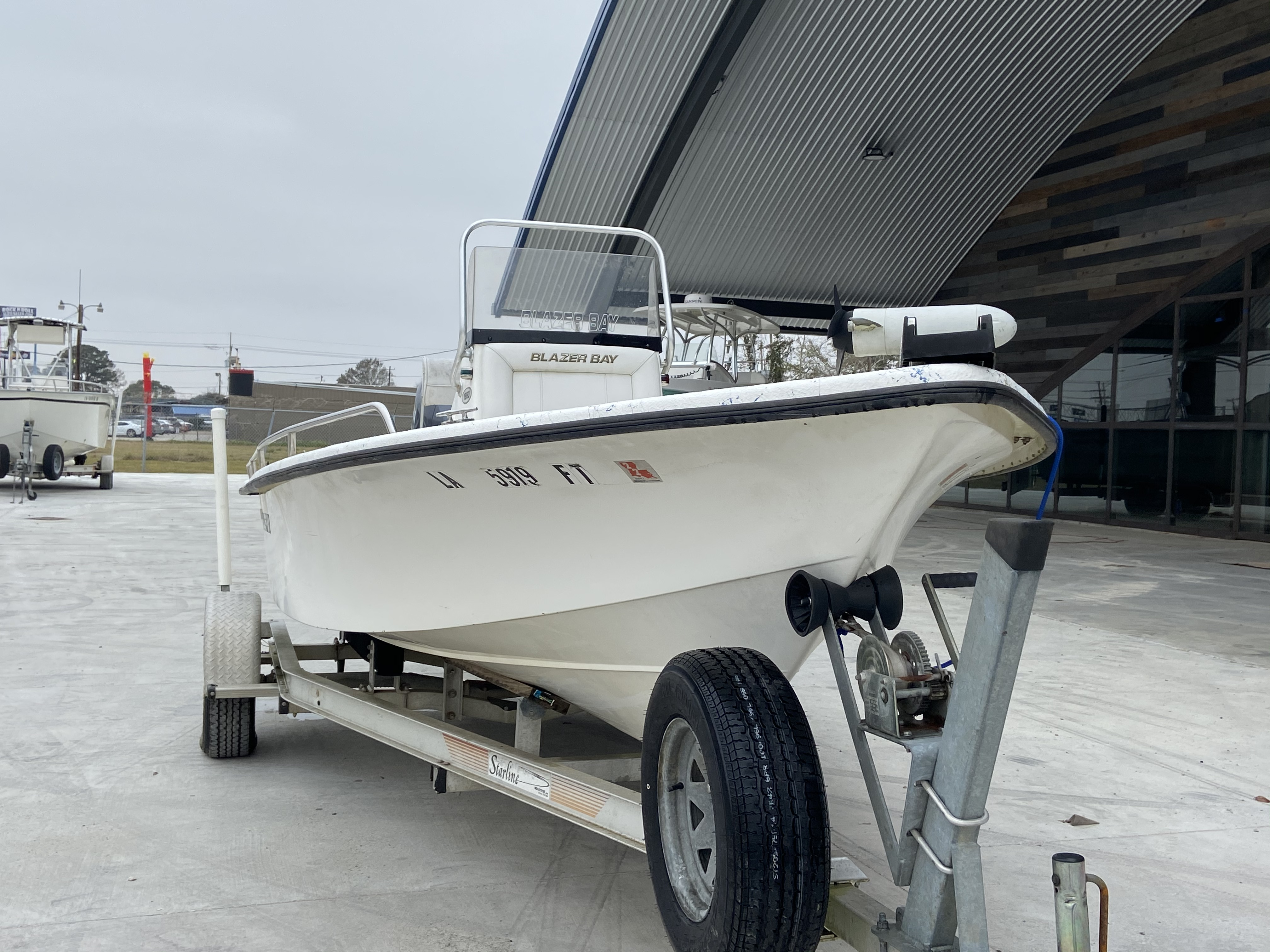 2008 Blazer boat for sale, model of the boat is 1860 CC & Image # 3 of 15