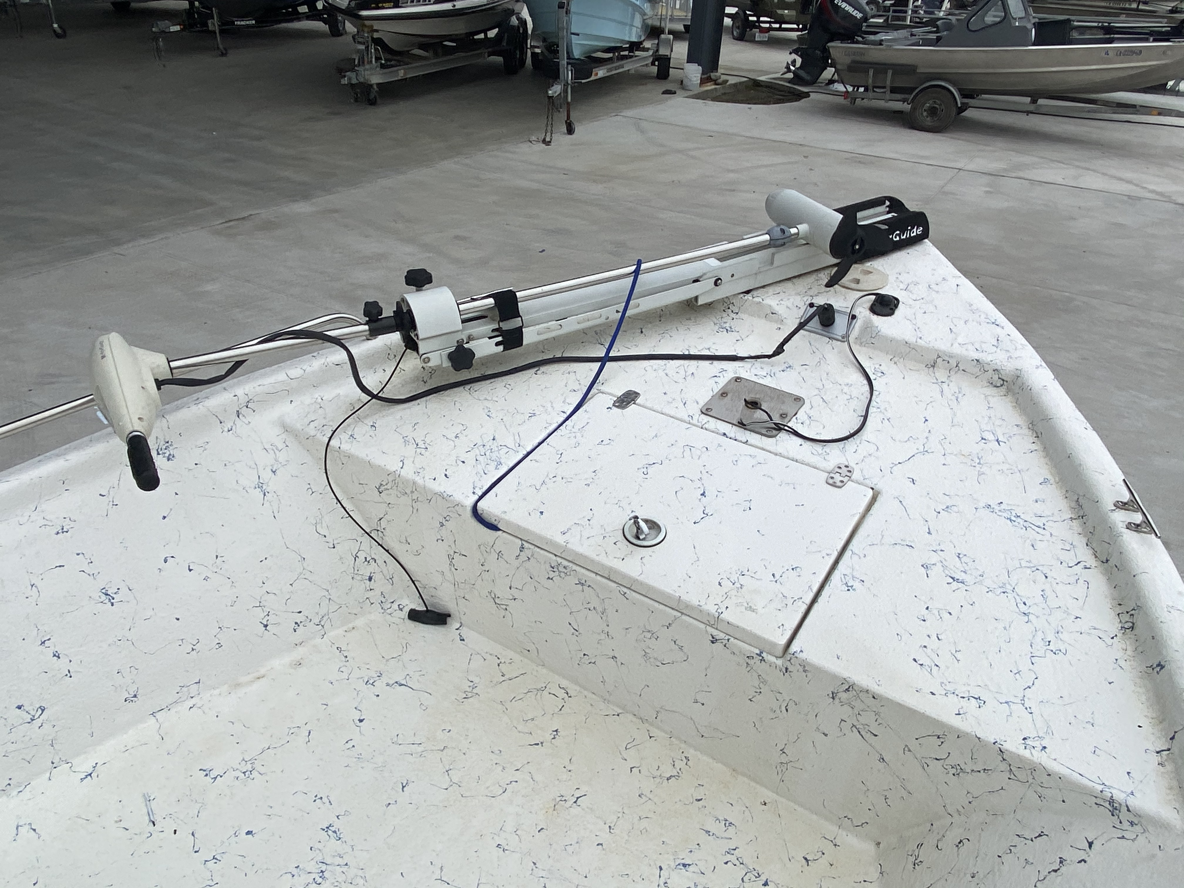 2008 Blazer boat for sale, model of the boat is 1860 CC & Image # 4 of 15