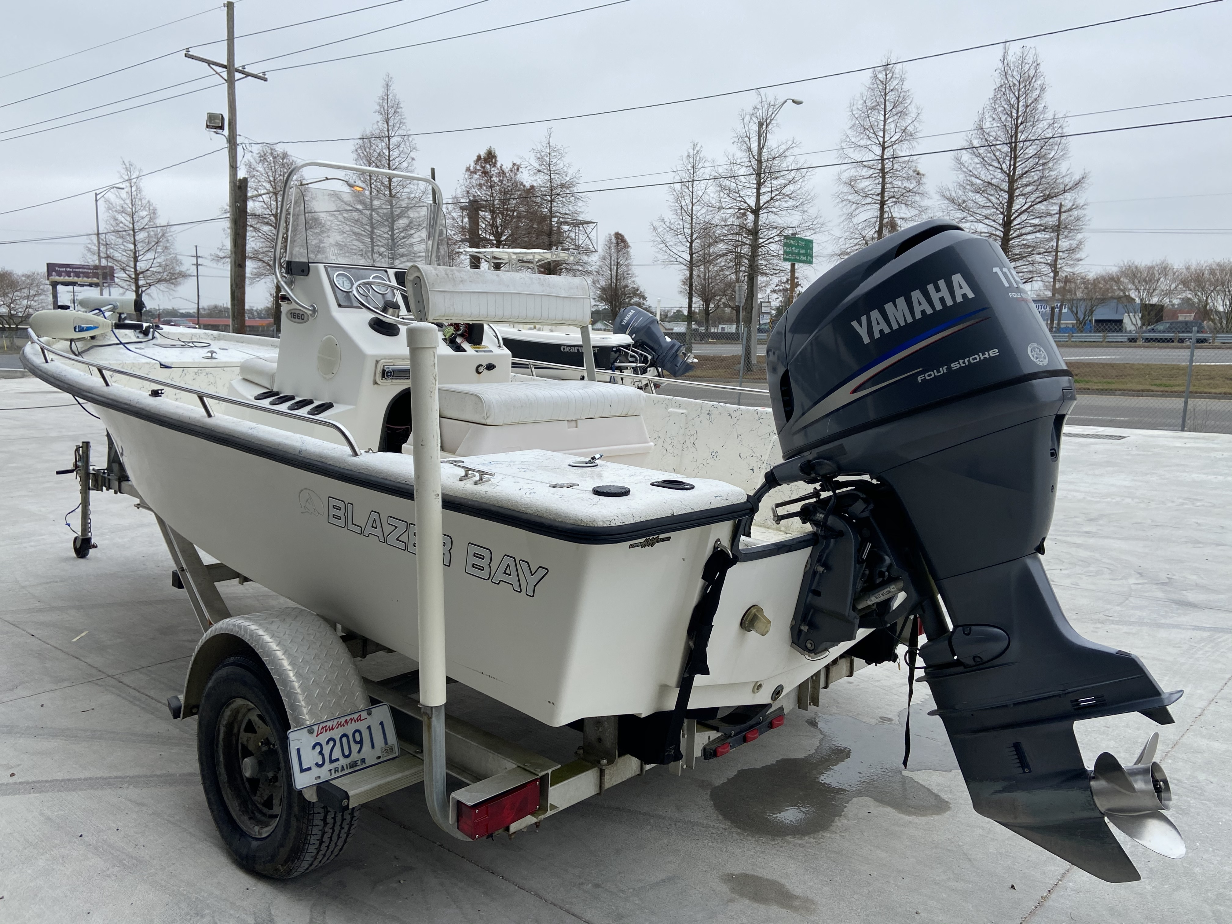 2008 Blazer boat for sale, model of the boat is 1860 CC & Image # 6 of 15