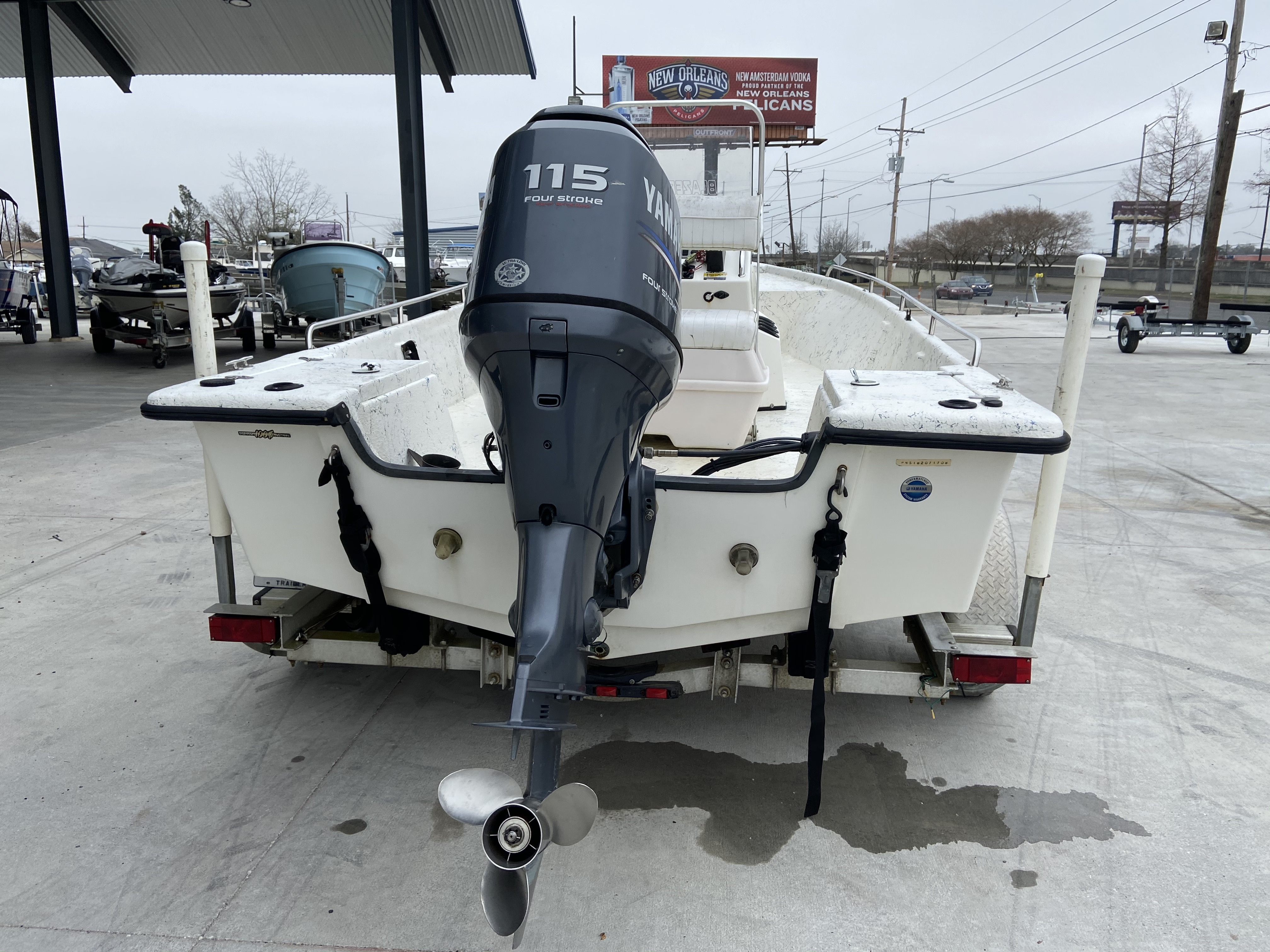 2008 Blazer boat for sale, model of the boat is 1860 CC & Image # 10 of 15