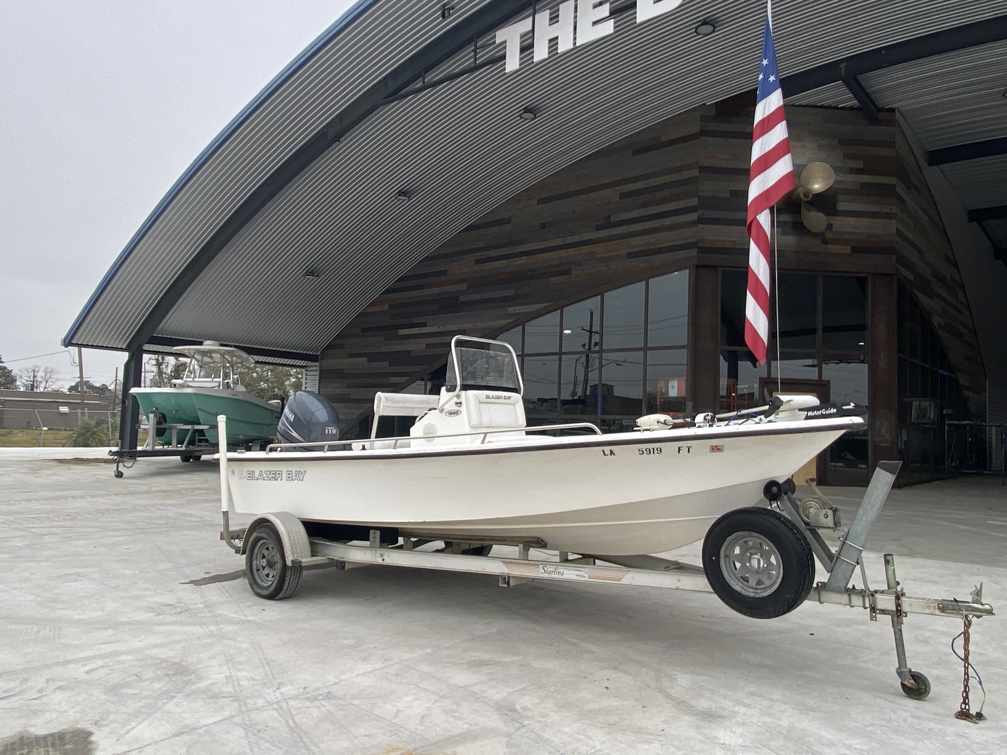 2008 Blazer boat for sale, model of the boat is 1860 CC & Image # 7 of 15