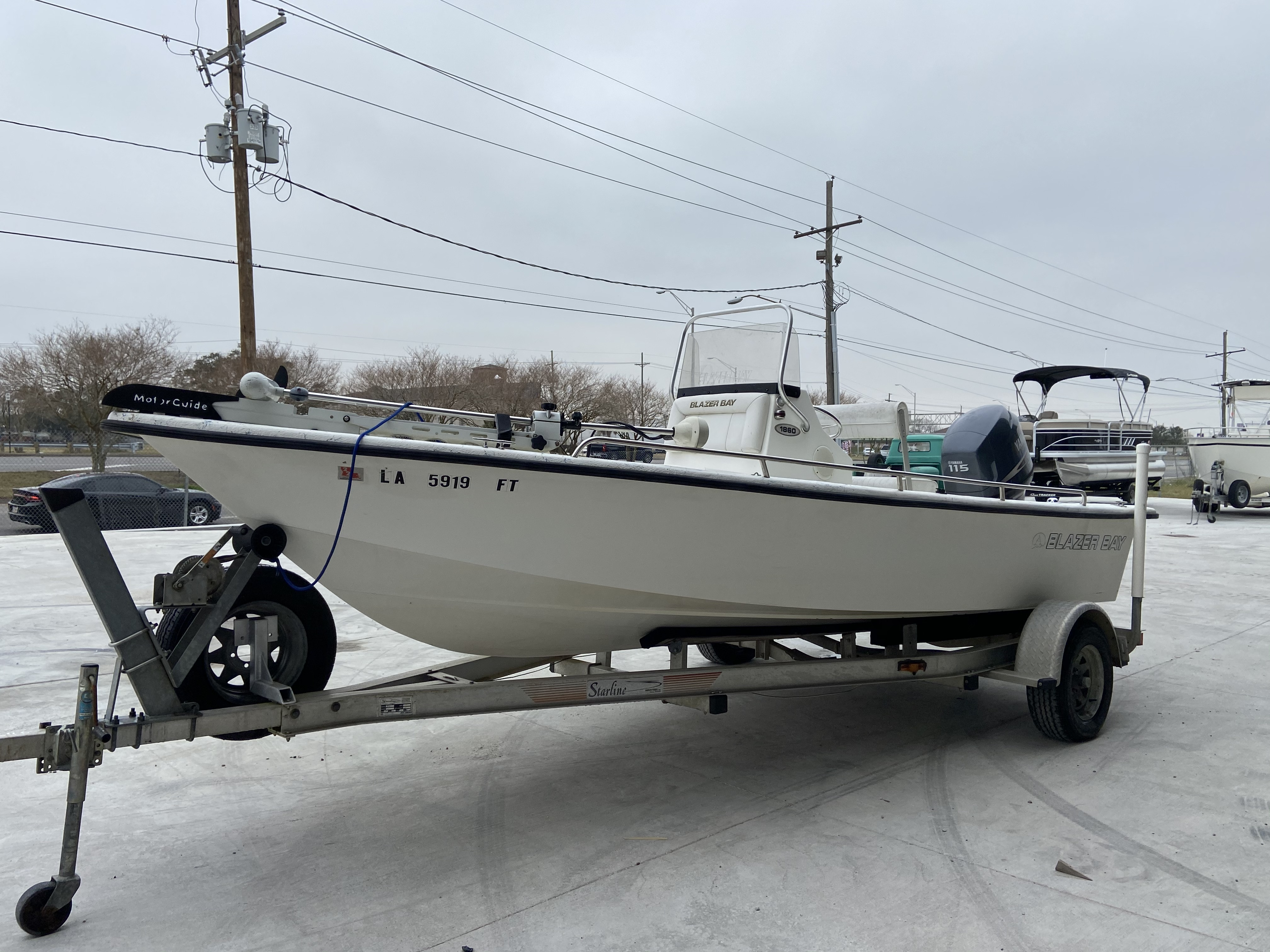 2008 Blazer boat for sale, model of the boat is 1860 CC & Image # 14 of 15