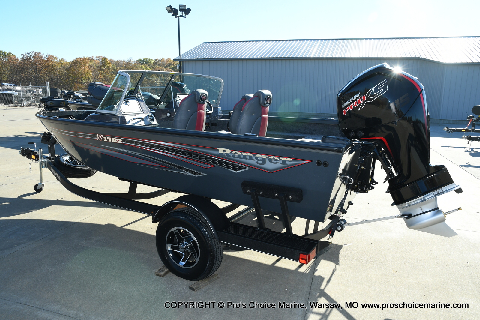 2021 Ranger Boats boat for sale, model of the boat is VS1782 WT w/115HP Mercury Pro-XS 4 Stroke & Image # 48 of 50