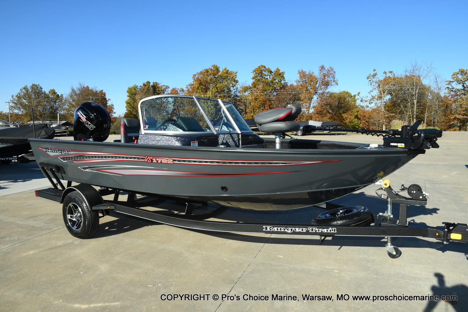 2021 Ranger Boats boat for sale, model of the boat is VS1782 WT w/115HP Mercury Pro-XS 4 Stroke & Image # 1 of 50