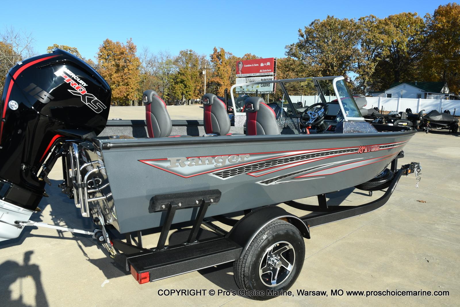 2021 Ranger Boats boat for sale, model of the boat is VS1782 WT w/115HP Mercury Pro-XS 4 Stroke & Image # 3 of 50