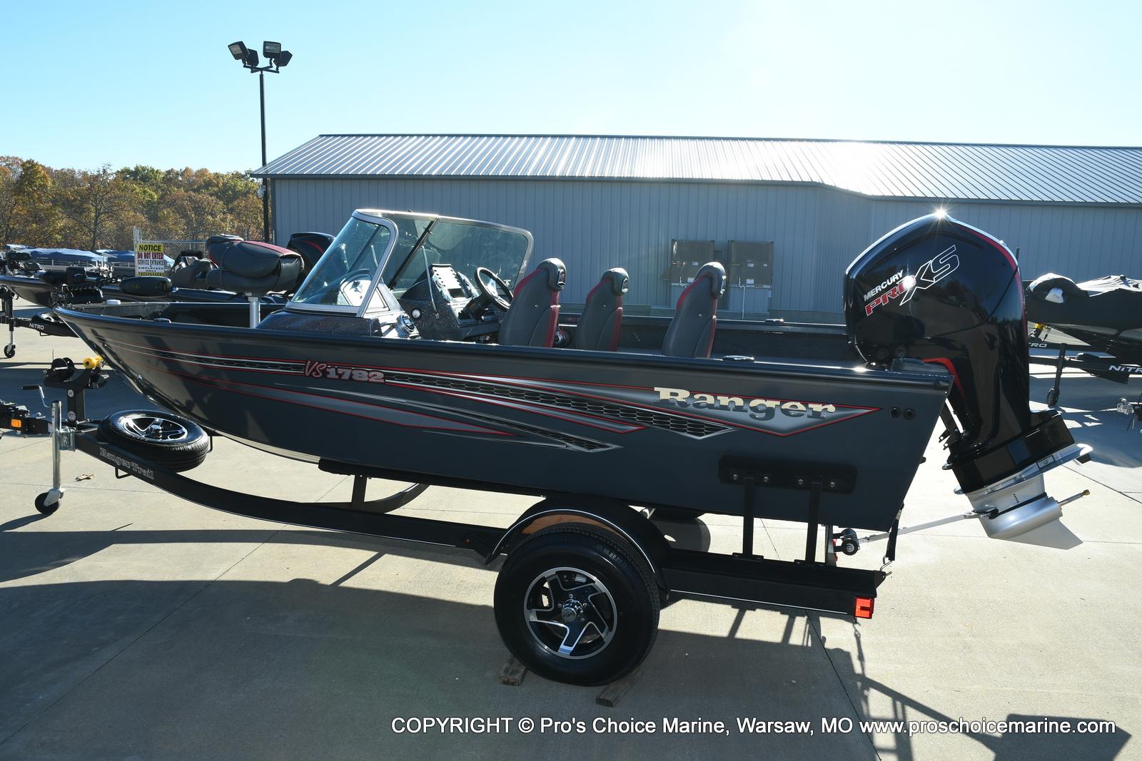 2021 Ranger Boats boat for sale, model of the boat is VS1782 WT w/115HP Mercury Pro-XS 4 Stroke & Image # 5 of 50