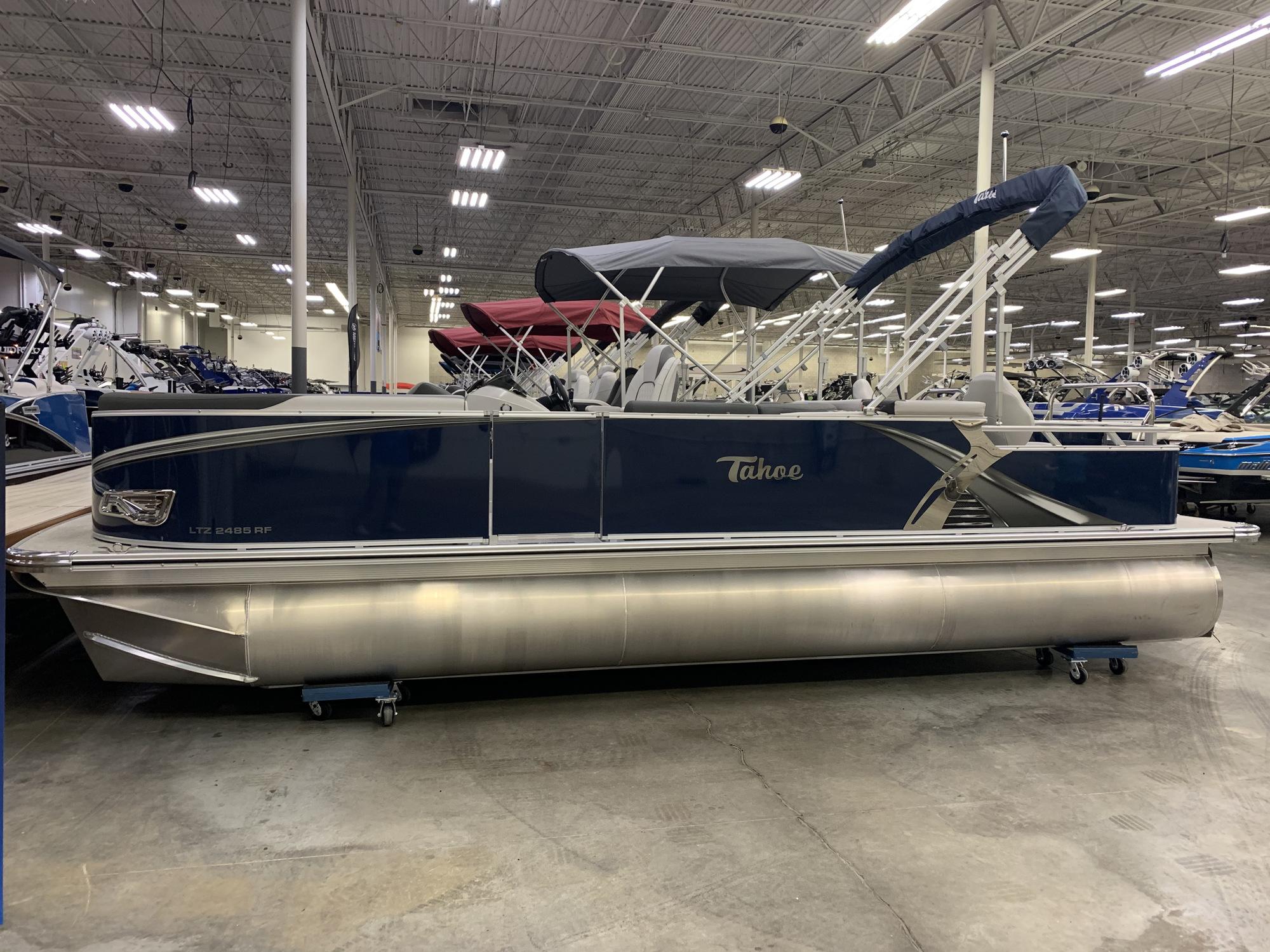 2021 Tahoe 2485 LTZ Rear Fish