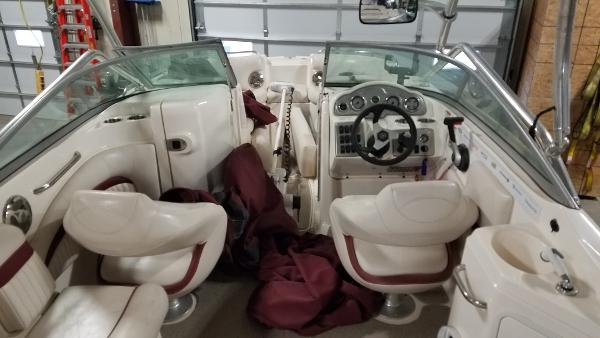 2008 Godfrey Pontoon boat for sale, model of the boat is 2400 Sun Deck & Image # 3 of 7