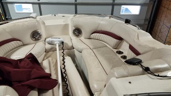 2008 Godfrey Pontoon boat for sale, model of the boat is 2400 Sun Deck & Image # 6 of 7