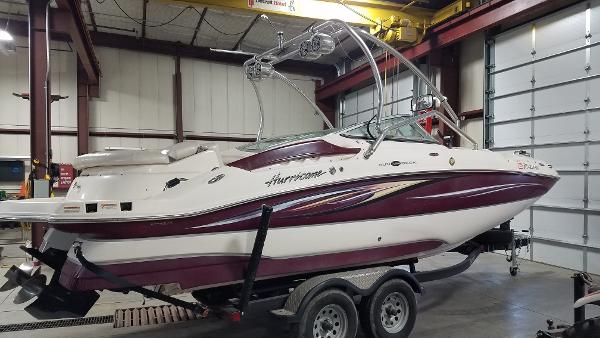 2008 Godfrey Pontoon boat for sale, model of the boat is 2400 Sun Deck & Image # 2 of 7