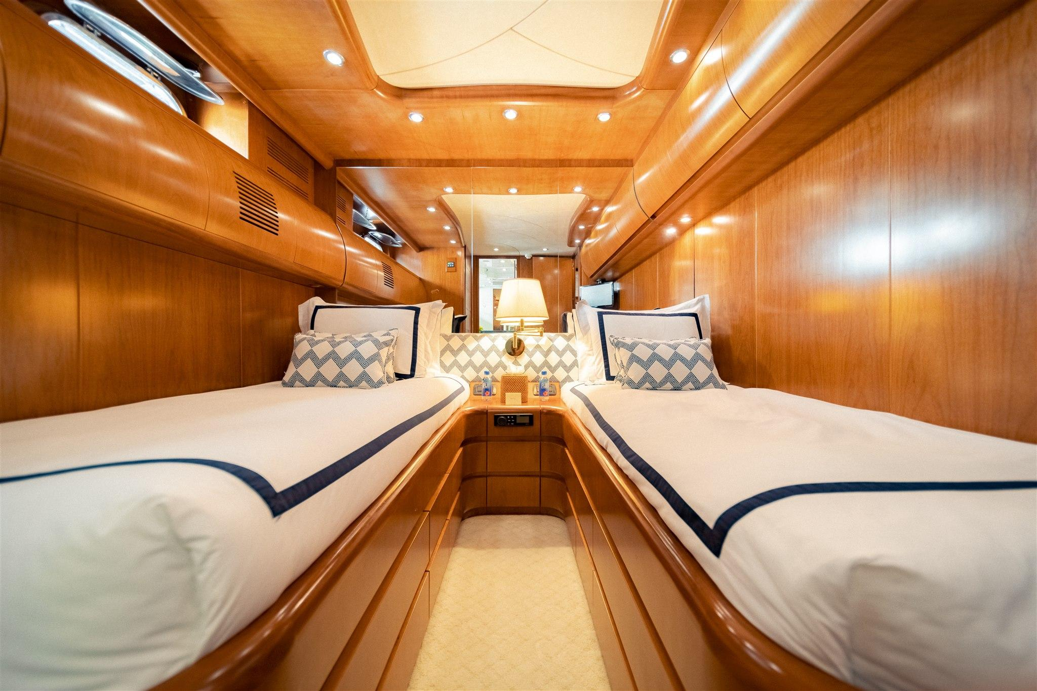 Maiora 96 Motor Yacht Guest Stateroom Port