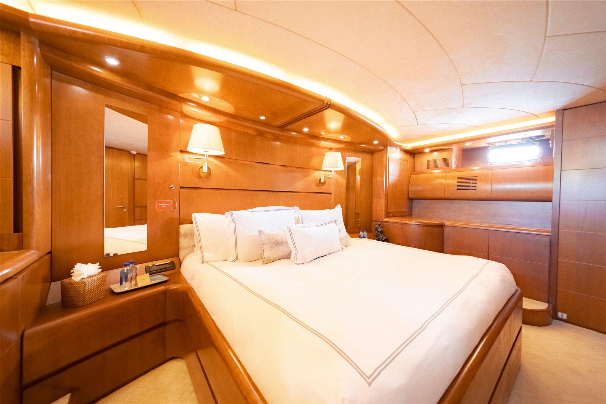 Maiora 96 Motor Yacht VIP Stateroom