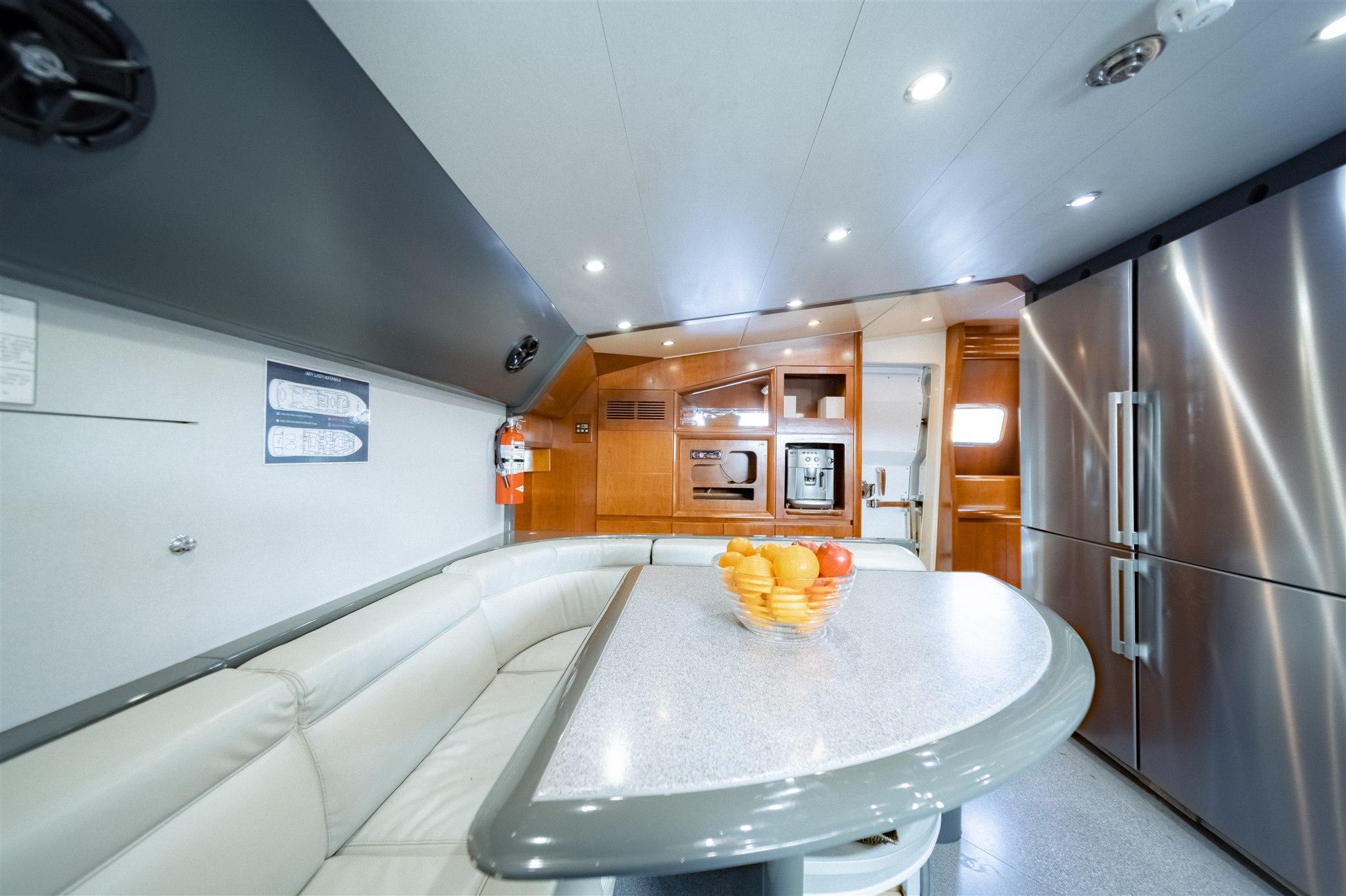 Maiora 96 Motor Yacht Galley