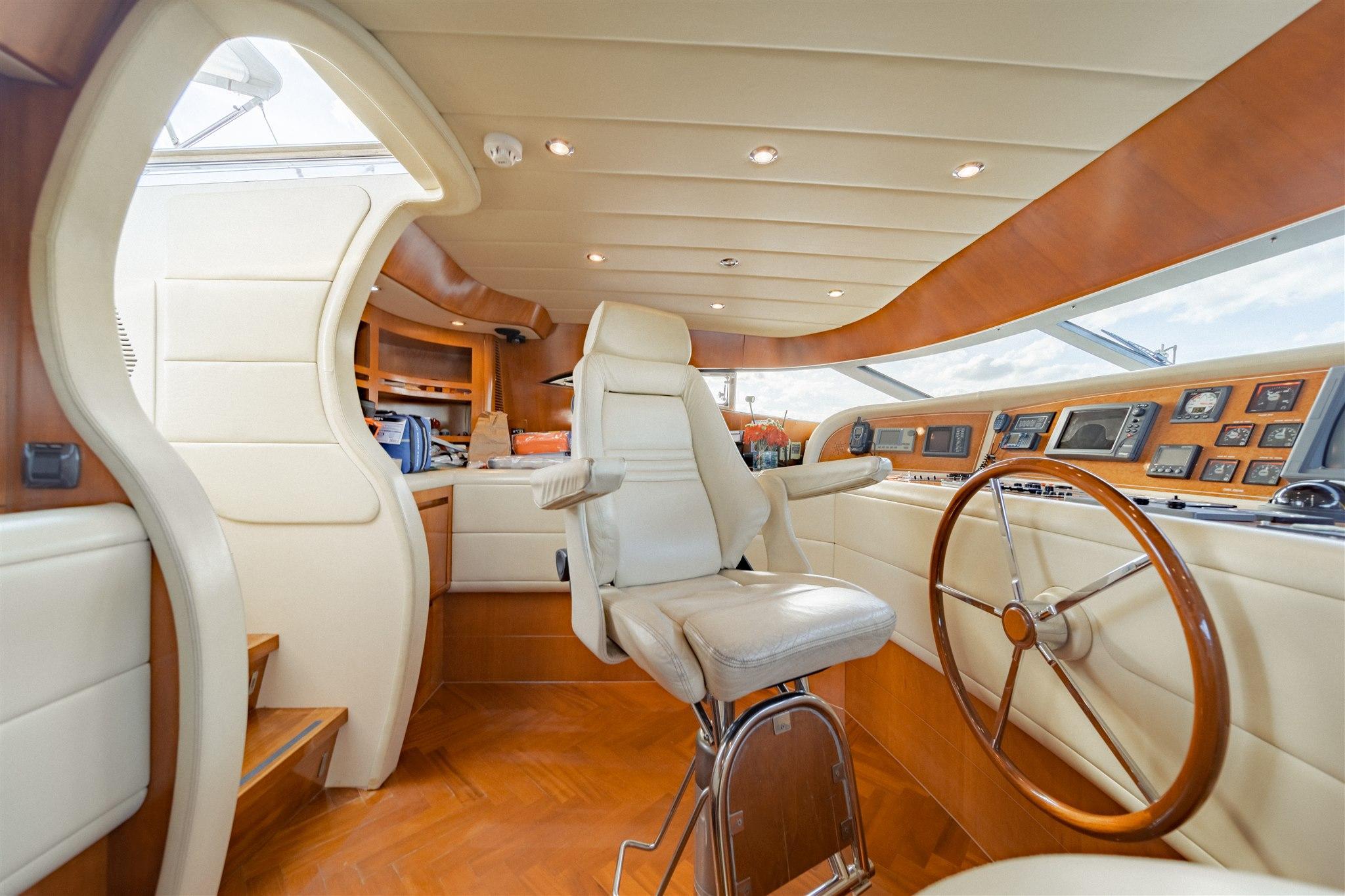 Maiora 96 Motor Yacht Pilot House