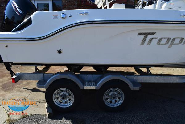 2021 Bayliner boat for sale, model of the boat is Trophy 20CC & Image # 22 of 48