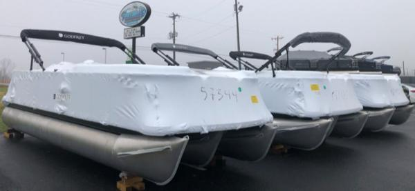 2021 Godfrey Pontoon boat for sale, model of the boat is SW 2286 SBX Sport Tube 27 in. & Image # 1 of 2