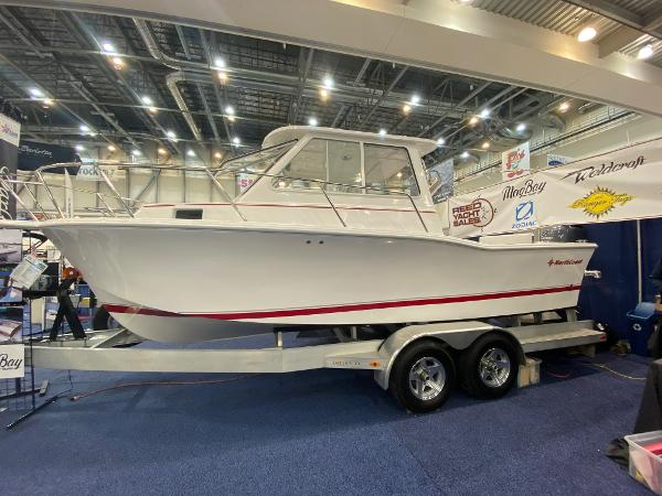 23' NorthCoast 235 Cabin 250hp - In Stock