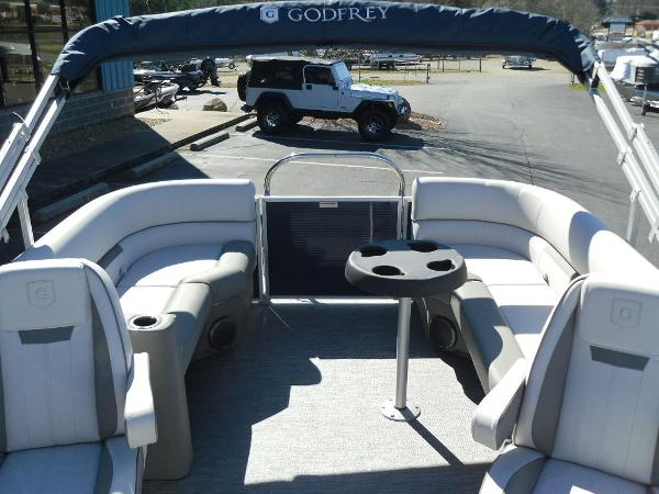 2021 Godfrey Pontoon boat for sale, model of the boat is SW 2286 SBX Sport Tube 27 in. & Image # 9 of 33
