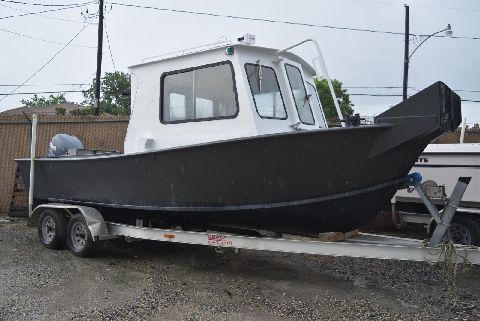 1973 Custom Aluminum boat for sale, model of the boat is 22 ft. & Image # 1 of 4