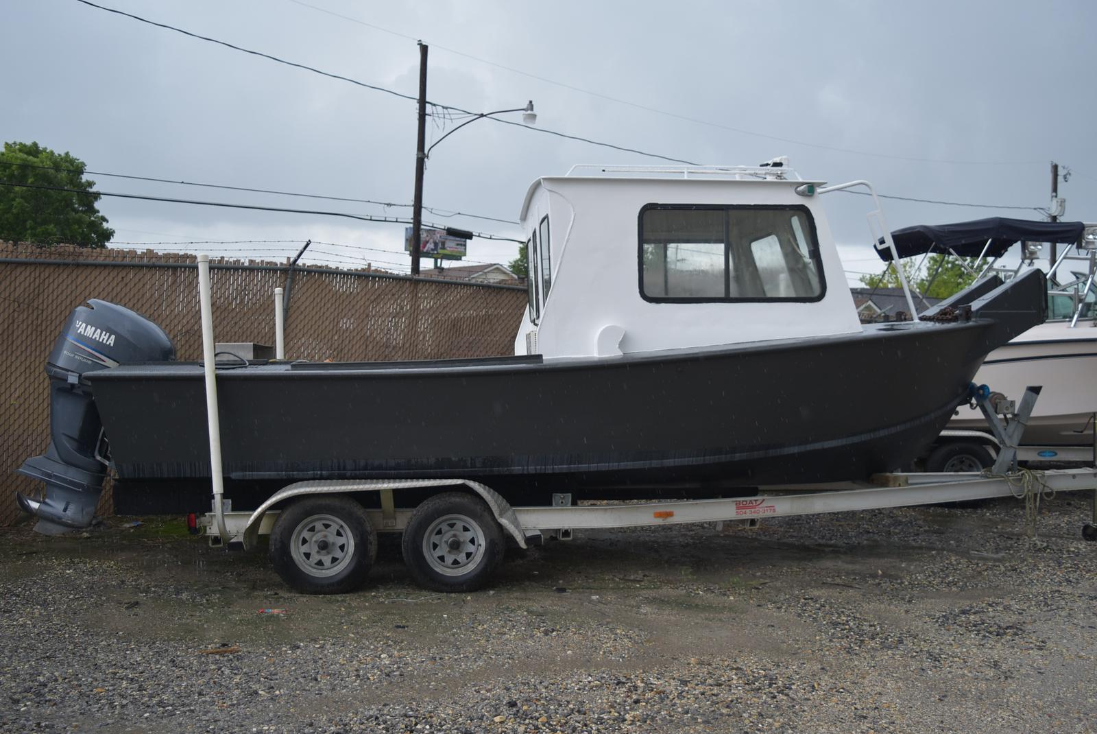 1973 Custom Aluminum boat for sale, model of the boat is 22 ft. & Image # 2 of 4