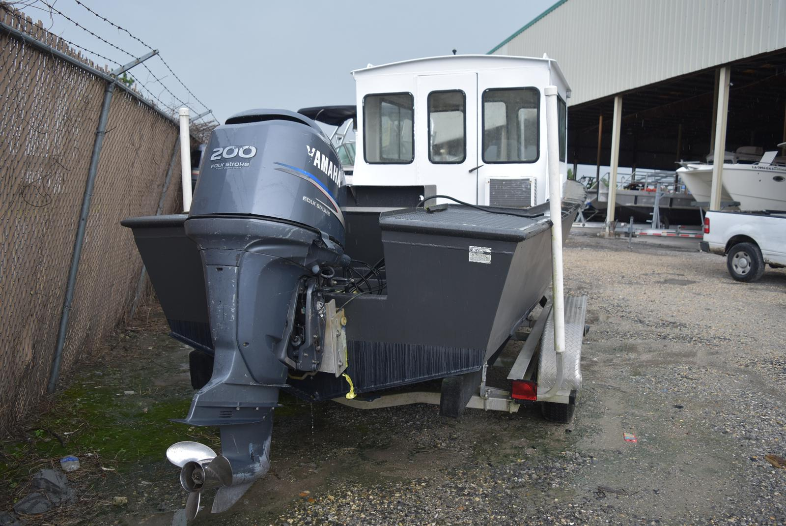 1973 Custom Aluminum boat for sale, model of the boat is 22 ft. & Image # 3 of 4