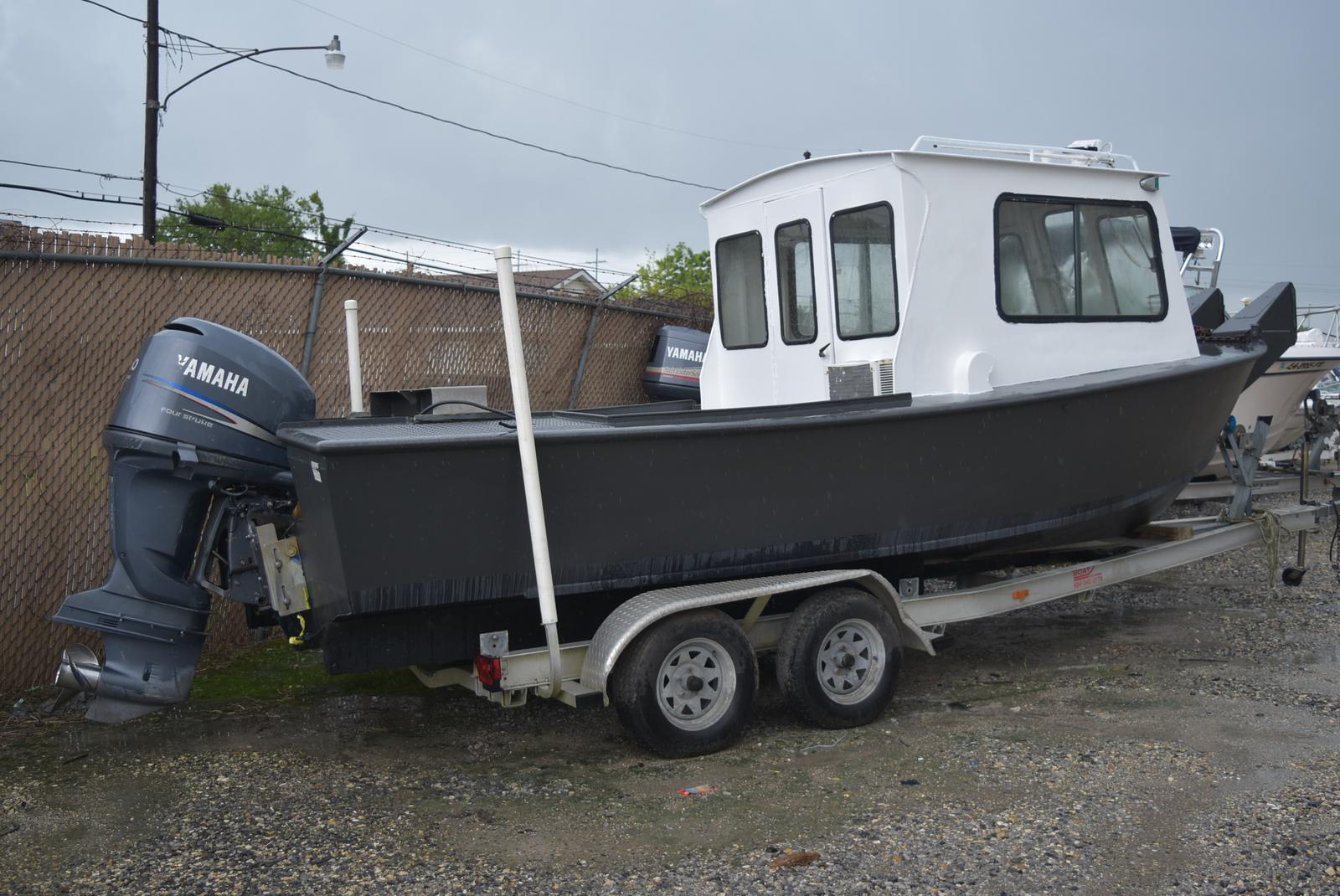 1973 Custom Aluminum boat for sale, model of the boat is 22 ft. & Image # 4 of 4