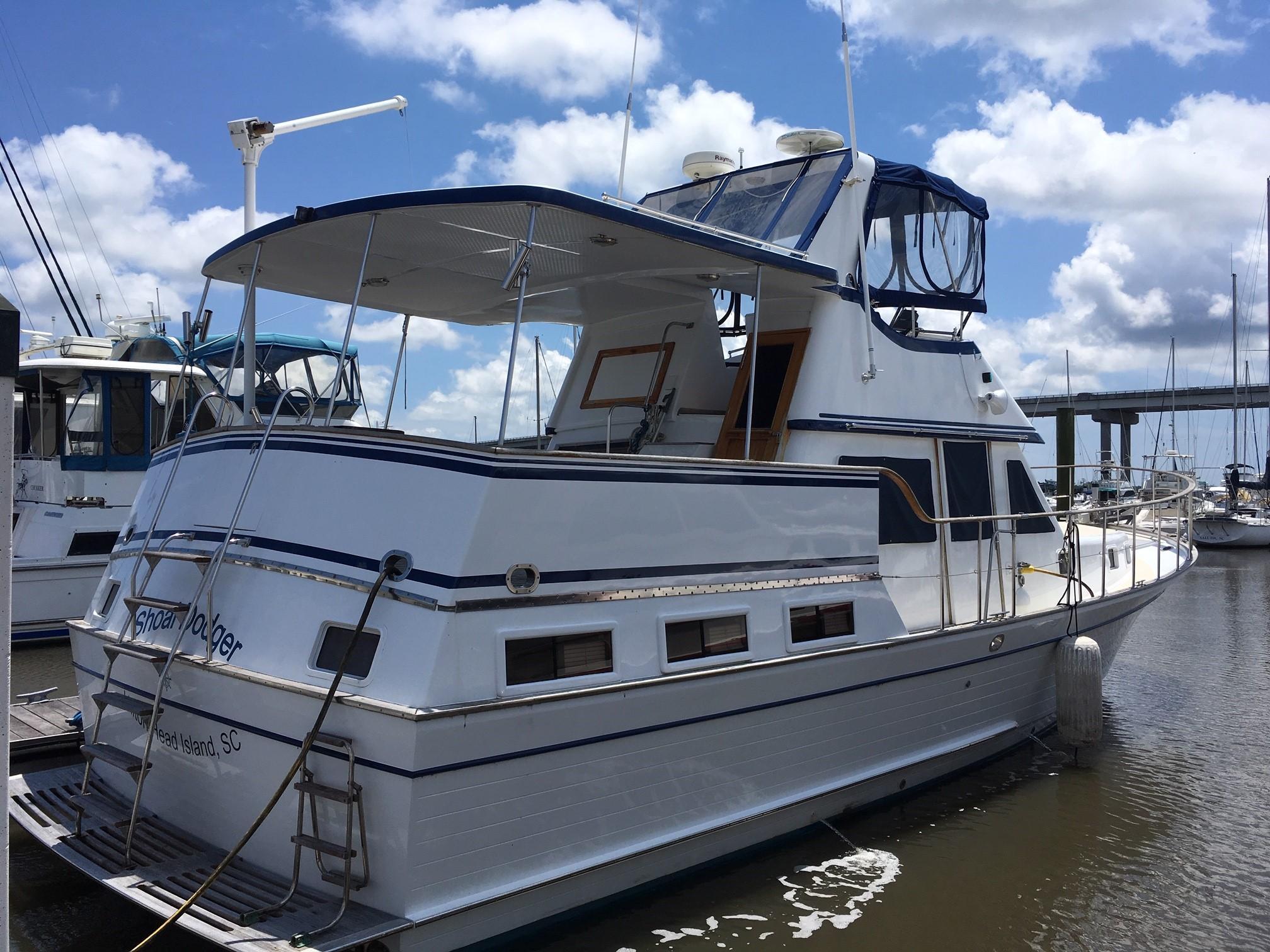 Marine Trader 43 LaBelle Trawler - marine trader 43 labelle