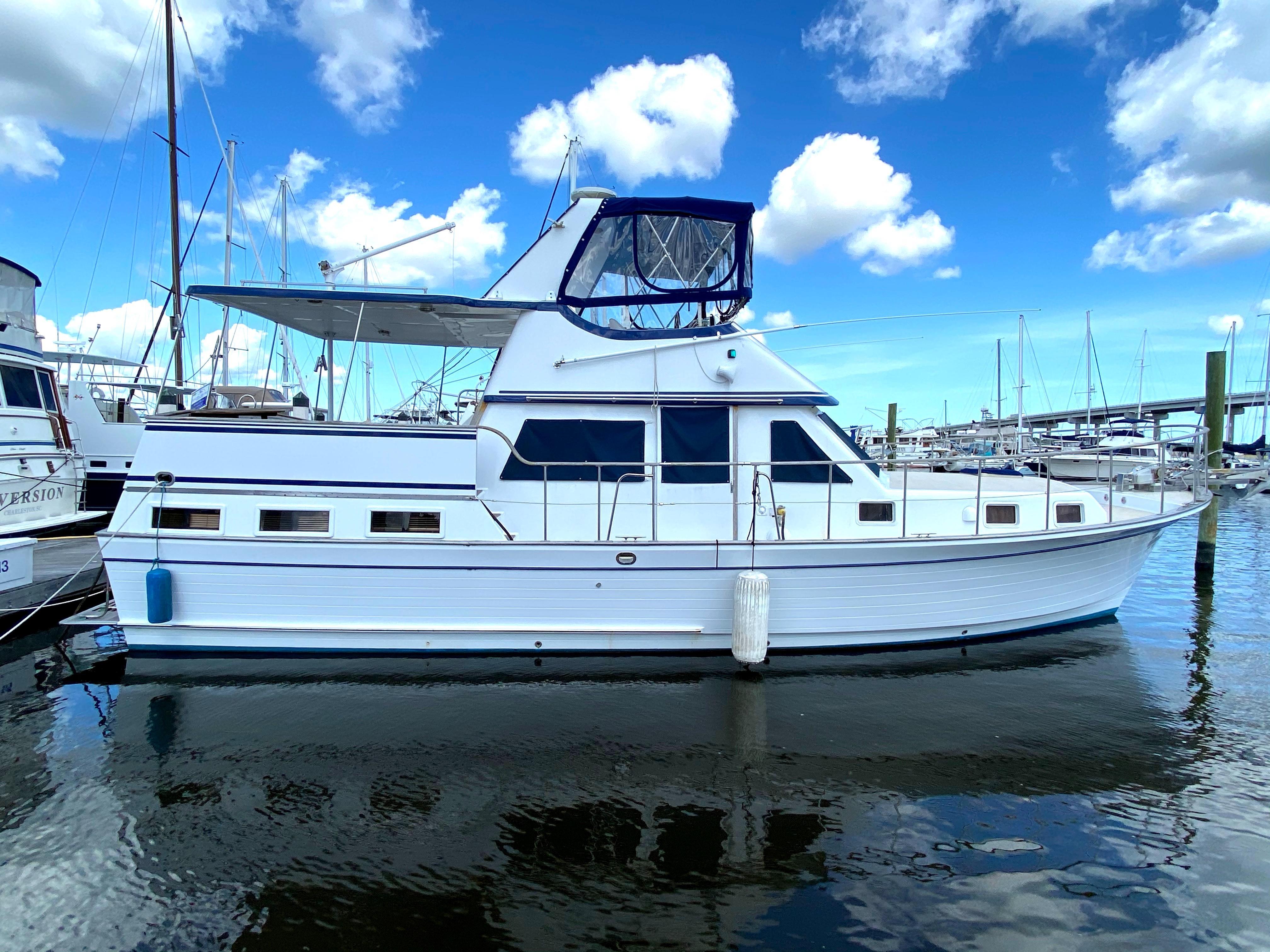 Marine Trader 43 LaBelle Trawler - 1983 marine trader 43 labelle