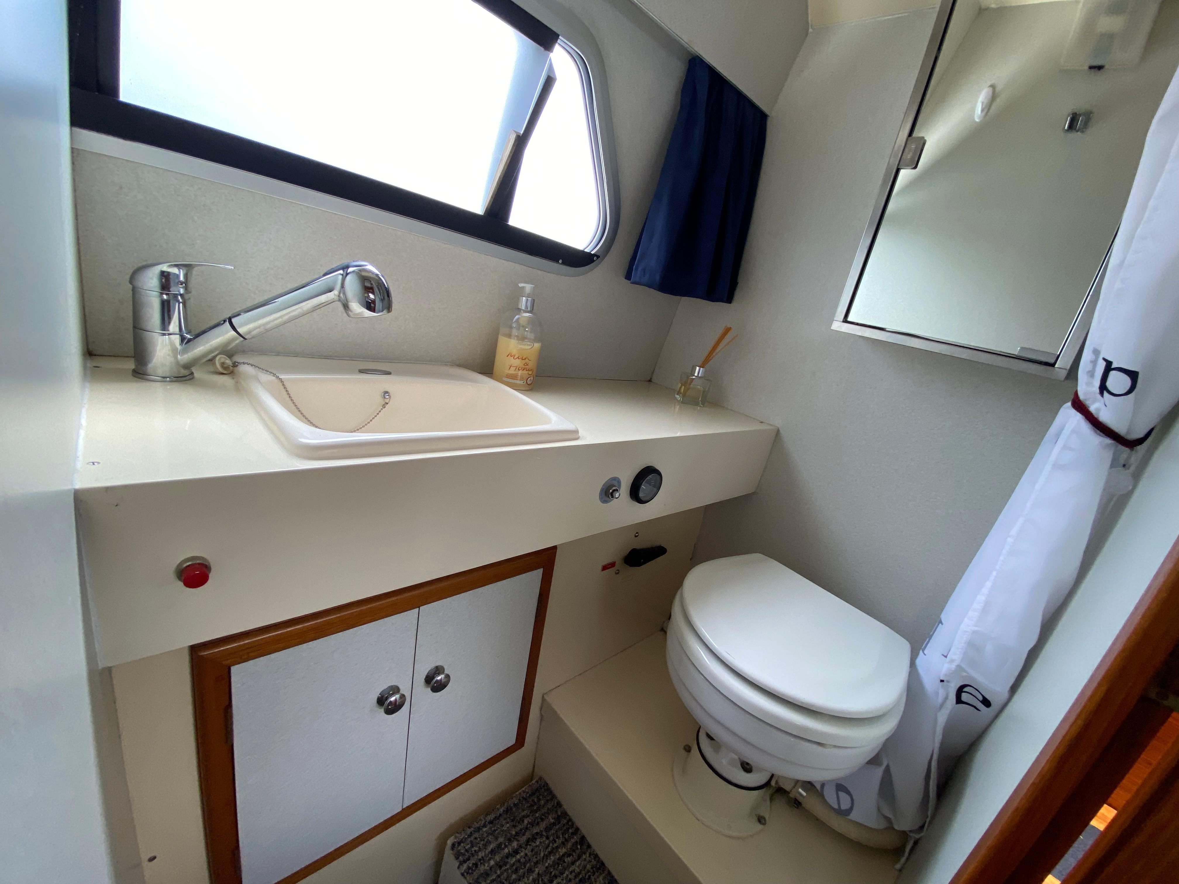 1992 Sheerline 740 Aft cockpit