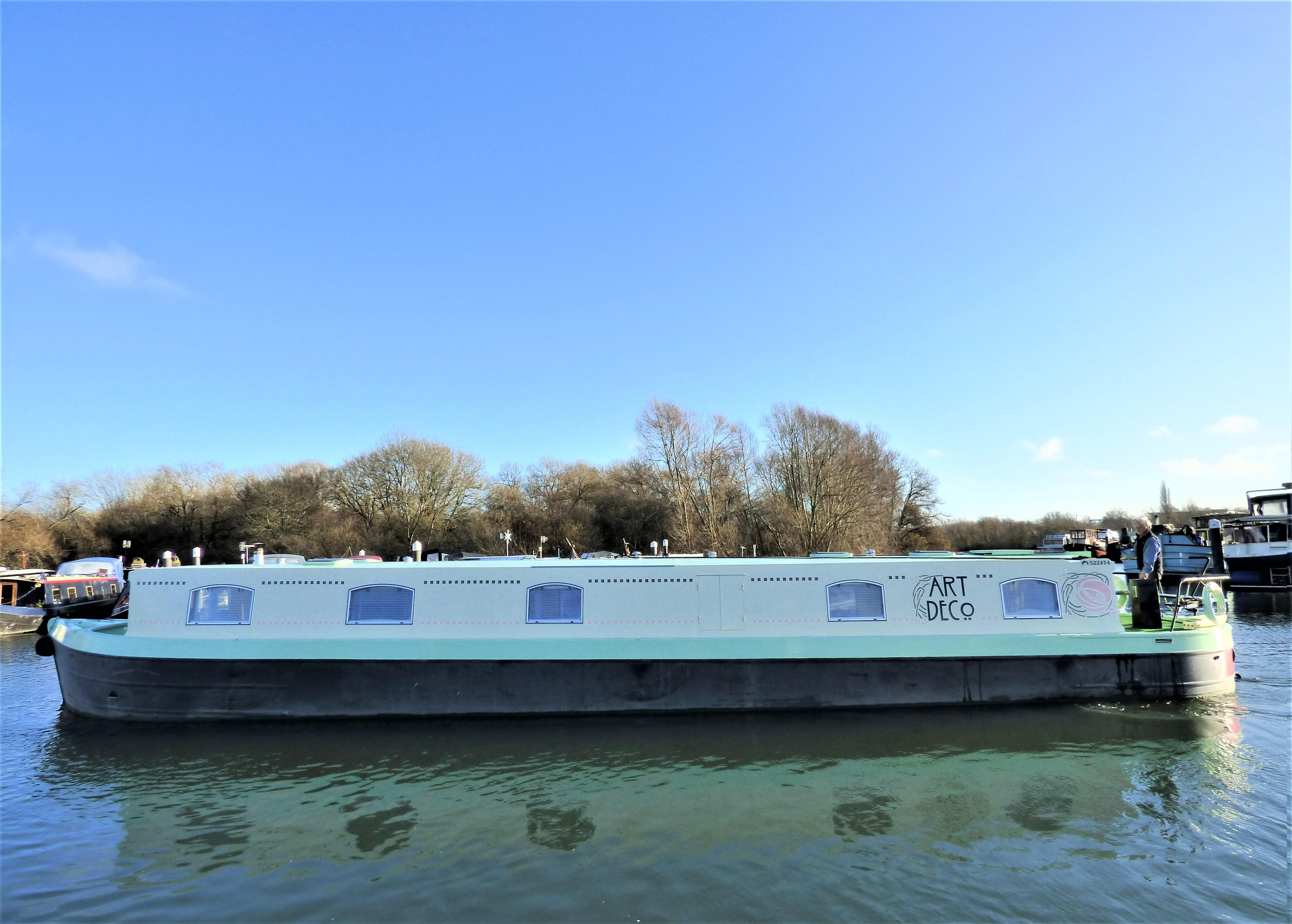 Wide Beam Narrowboat 60 x 12 Narrowboats of Staffordshire shell - Fit out by Beardall Marine