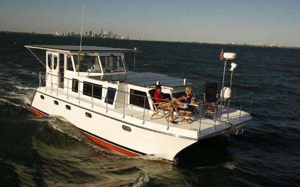 2009 ISLAND PILOT Electric Trawler Catamaran